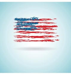 Abstract Flag of US vector image vector image