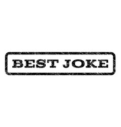 best joke watermark stamp vector image vector image