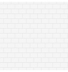 Brick wall texture - seamless background vector image
