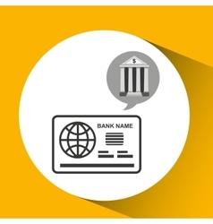 Building bank economy money vector