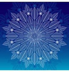Christmas rame vector image vector image