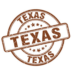 Texas stamp vector