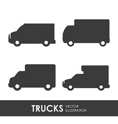 Truck deign vector