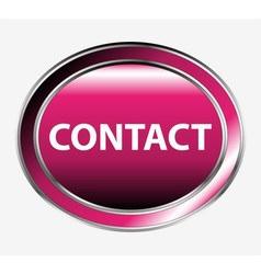 Contact button vector