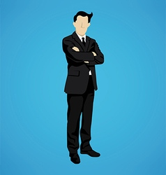 leader successful businessman vector image vector image