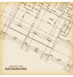 Old architecture background vector
