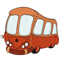 The bus vector image