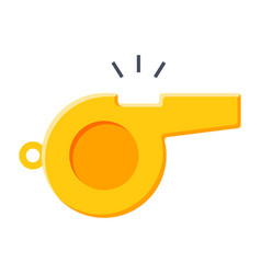 whistle icon vector image