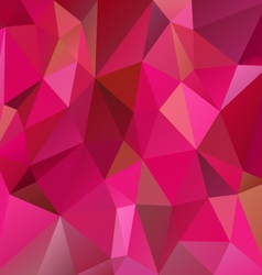 Vibrant pink magenta polygon triangular pattern vector