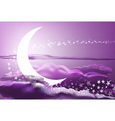 romantic heaven vector image