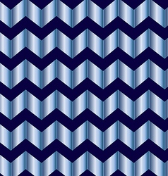 Chevron blue foil vector
