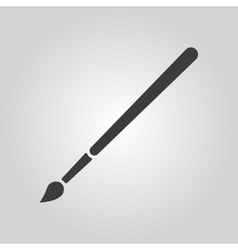 The brush icon brush symbol vector