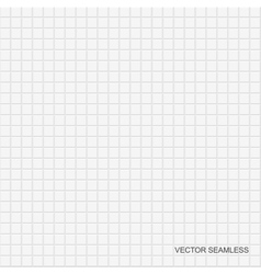 White tile texture seamless vector