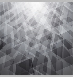 Abstract background with white and gray objects vector