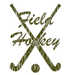 Field hockey 05 vector
