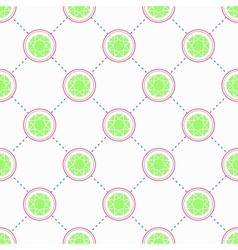Green Emerald pattern vector image