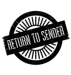 Return to sender stamp vector