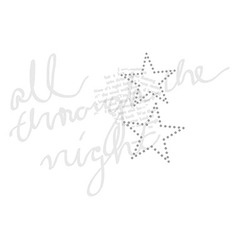 Star font type fashion graphic print design vector