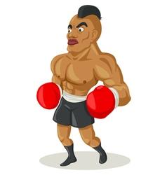 Boxer Cartoon vector image