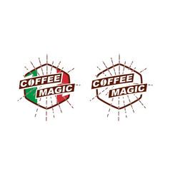 Coffeemagic2 - italian coffee logotype vector