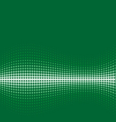 Halftone background green vector