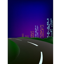 Hight city vector