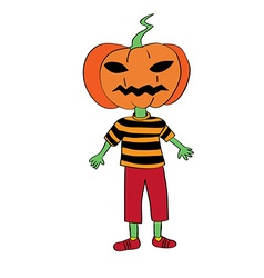 Pumpkin mask vector