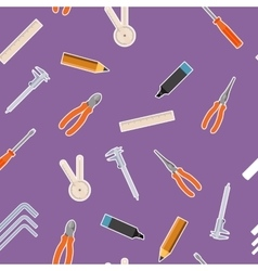 Tool seamless4 vector image vector image