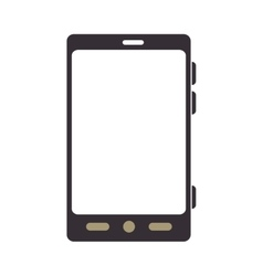 Smartphone screen mobile phone technology vector