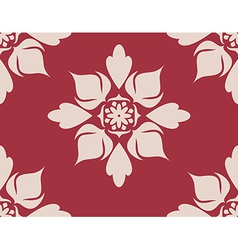 Seamless with flower 2 vector