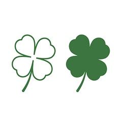 leaf clover vector image