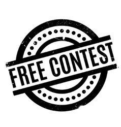 Free contest rubber stamp vector