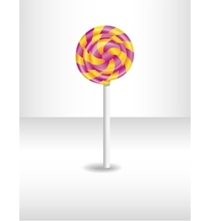 Colorful isolated candy vector