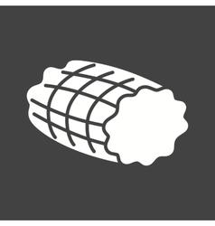 Smoked ham vector