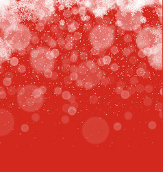 Merry christmas abstract background snowflakes vector