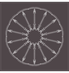 Geometric hipster circle 617547163 vector