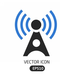 Connection wave icon vector image vector image