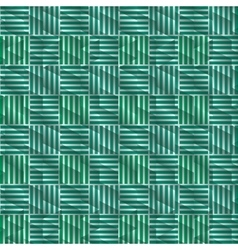 Geometric green and blue background patterns icon vector