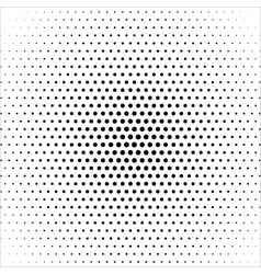 Halftone colorful blue lights falling dots pattern vector halftone