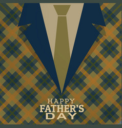 Happy fathers day card greeting vector
