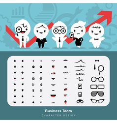 Create business team vector