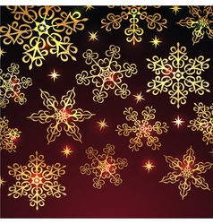 Holiday winter background vector