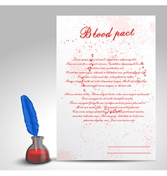Blood pact vector