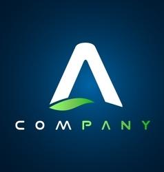 Alphabet a letter logo icon design vector