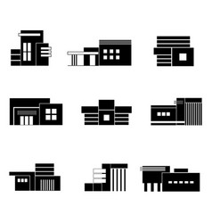 architecture house vector image