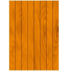 Brown wooden background with natural texture vector image vector image