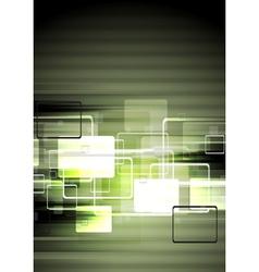 Dark tech design vector image