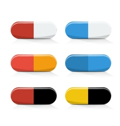 Pills medical vector