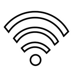 Wifi wireless or internet icon design vector