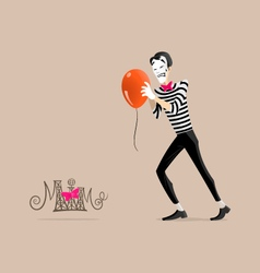 Mime performance - get it moving vector
